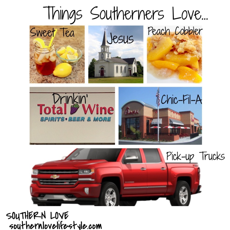 Things Southerners Love